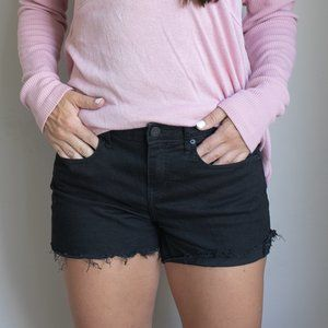 Calvin Klein Stretchy black/denim shorts